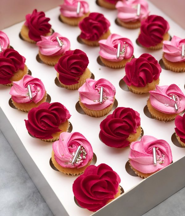 cupcakes, buttercream cupcakes, elegance range, taylor made cupcakes, taylor made elegance range,